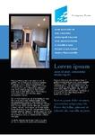 Real estate, Elipse a lot, Flyer