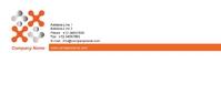 Real estate, orange-logo, Compliments Slip