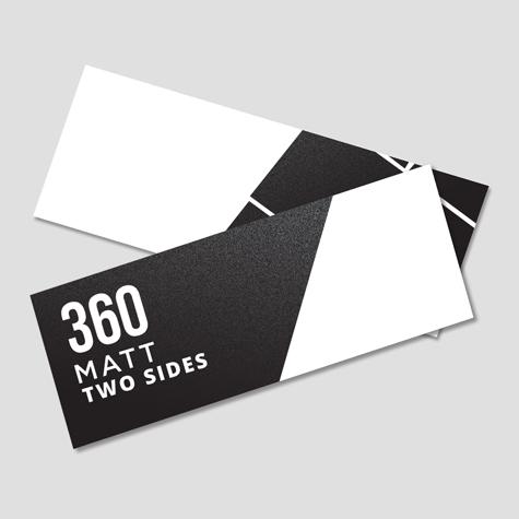 360 Matt Two Sides