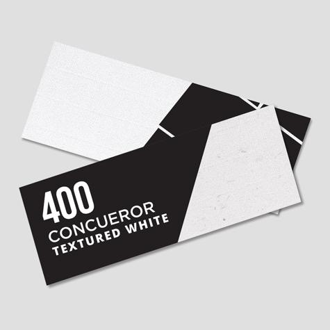 400 Conqueror Textured White