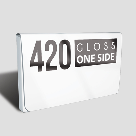 420 Artboard Gloss One Side