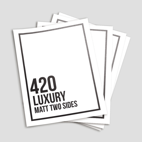 Luxury 420 Matt Two Sides