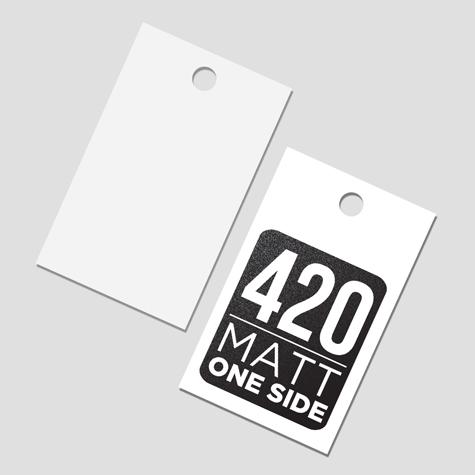 Premium Matt Swing Tags